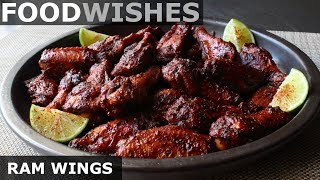 Ram Wings - Rosemary Ancho Molasses Chicken Wings - Food Wishes by Food Wishes