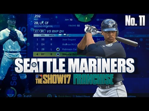 WE GOT MOOKIE! MLB The Show 17 Franchise Seattle Mariners Ep. 11