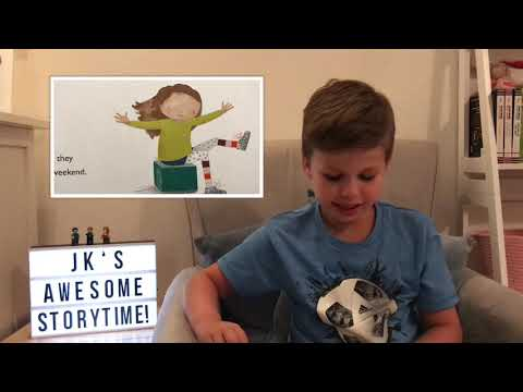 Go Go and the Silver Shoes read by JK's Awesome Storytime