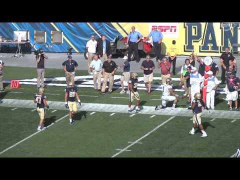 Football at Pittsburgh- Recap (Sept. 27, 2014)