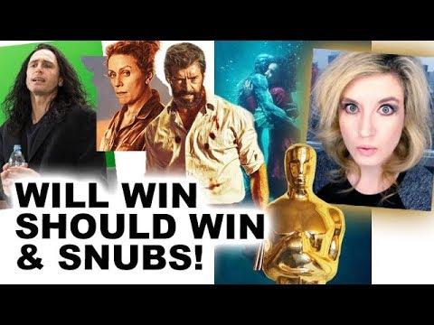 Oscars 2018 Nominations, Predictions & Snubs