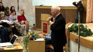 Семинар Ш. Амонашвили «Мама, Папа и Я», Омск, 1 часть — Амонашвили Ш.А. — видео