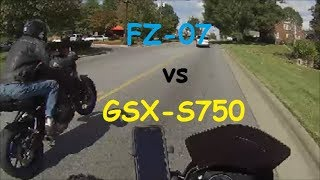 7. FZ07 vs GSX-S750  Mountain Twisties & Fall colors