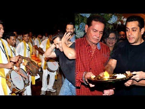 Salman Khan's Ganpati Visarjan (Part-1)