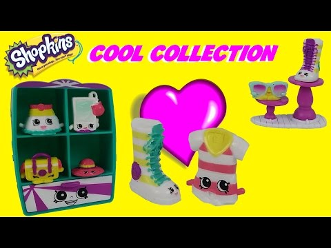 **NEW** Exclusive Shopkins Cool Casual Collection Shopkins Season 3