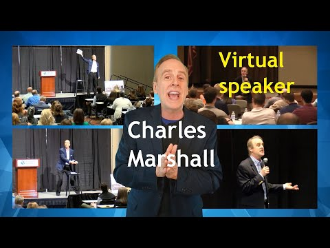 Funny Virtual Keynote Speaker Charles Marshall | Virtual Motivational Speaker