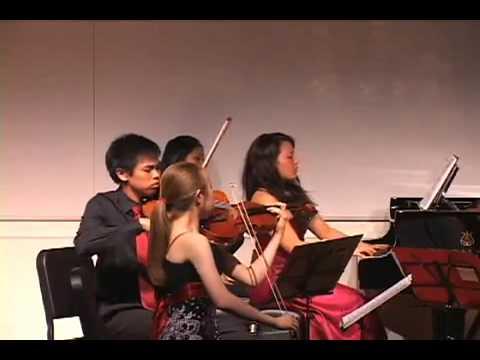 Dvorak Piano Quintet in A Major op. 81: 1st movement (Part 1)