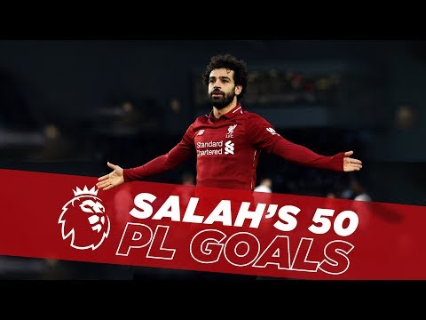 Fastest to Fifty | Mo Salah's first 50 Premier League goals for Liverpool