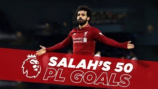 Download Video Fastest to Fifty | Mo Salah's first 50 Premier League goals for Liverpool MP3 3GP MP4