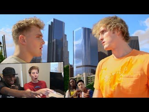 YouTube Rewind: The Shape of 2017 REACTION ft. Logan & Jake Paul, KSI