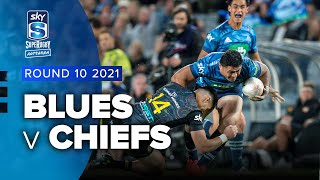 Blues v Chiefs Rd.10 2021 Super rugby Aotearoa video highlights