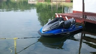 7. Let's go for a ride on a 2007 Kawasaki 250x jet ski!