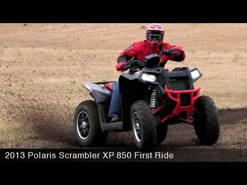 MotoUSA First Ride: 2013 POLARIS SCRAMBLER XP 850