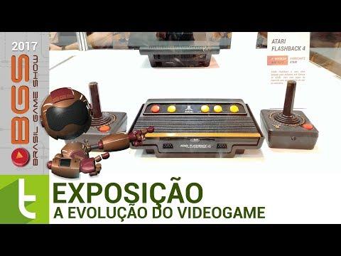 BGS 2017: Exposição sobre a evolução do videogame  TudoCelular.com