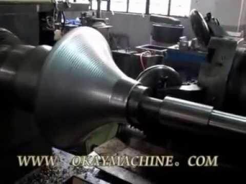 metal flow forming-----metal spinning machine
