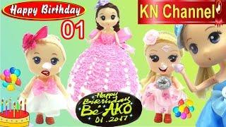 KN Channel tổ chức tiệc sinh nhật tháng 1 với đồ chơi trẻ em BIRTHDAY PARTY TOYS bóng bóng, con dấu mèo hello kitty,...