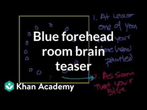 Blue Forehead Room Brain Teaser