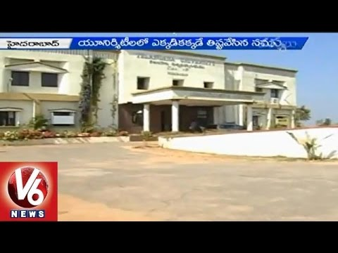 Telangana government neglecting to appoint VCs in Universities 14042015