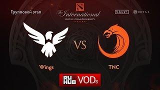 TnC vs Wings, game 2