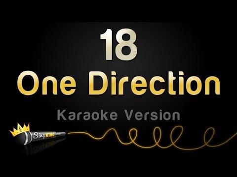 One Direction - 18 (Karaoke Version)