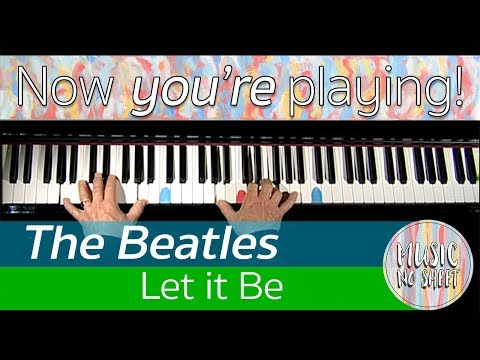 The Beatles | LET IT BE | The whole song on piano