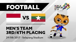 Video KL2017 29th SEA Games | Men's Football - 3rd/4th Placing - INA 🇮🇩 vs MYA 🇲🇲 | 29/08/2017 MP3, 3GP, MP4, WEBM, AVI, FLV Mei 2019