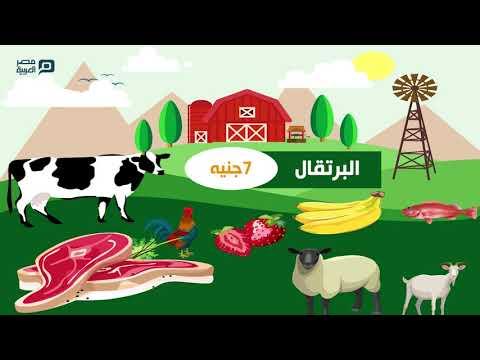 أسعار الخضار والفاكهة واللحوم والاسماك والدواجن الاثنين 17-2-2020