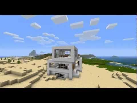 Minecraft inneneinrichtung modernes haus deko objekte for Minecraft modernes haus