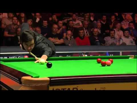 Ronnie O'Sullivan's 12th 147 - 2014 Welsh Open Final