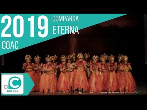 """Actuación en preliminares de la comparsa de Isla Cristina """"ETERNA"""""""