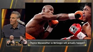 Colin Cowherd on a potential Conor McGregor vs Floyd Mayweather fight by UFC on Fox