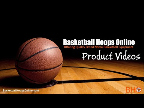 First Team - Titan™ In Ground Adjustable Basketball Goal