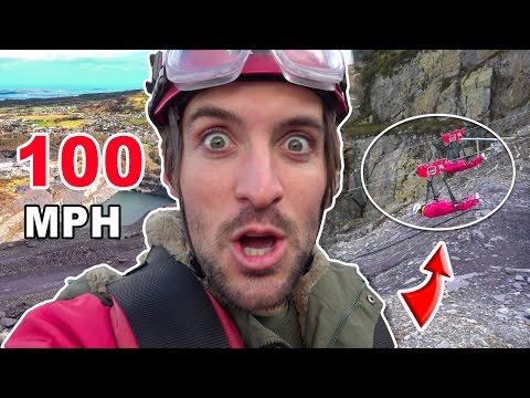 WORLD'S FASTEST ZIP LINE! | Wales, United Kingdom  😱