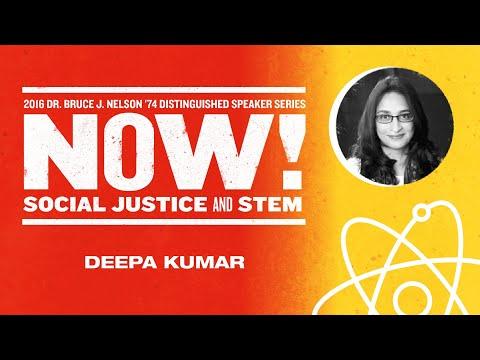 Professor of Media Studies Deepa Kumar - 2016 Nelson Speaker Series