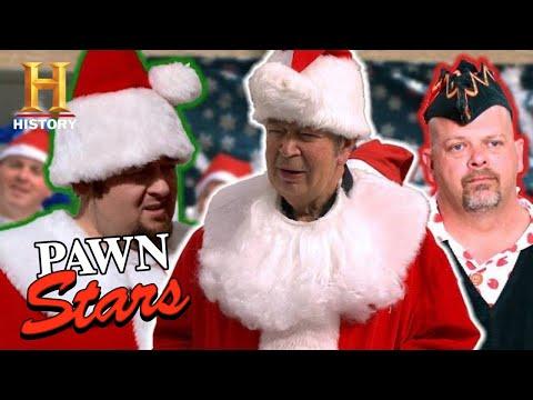 Pawn Stars: CHRISTMAS CARD THROWDOWN (Season 8)   History