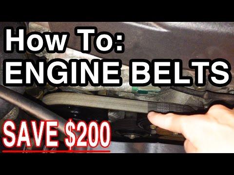 How To: Engine Belts [Infiniti G35/Nissan 350Z Serpentine Belt]