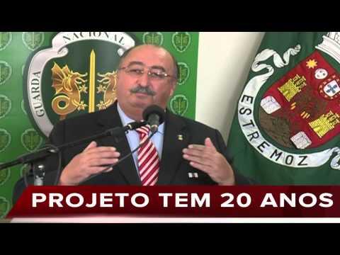 INAUGURAÇÃO DO QUARTEL DA GNR DE ESTREMOZ: LUÍS MOURINHA