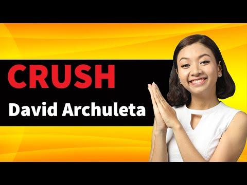 CRUSH - Học tiếng Anh qua Bài hát (Crush - David Archuleta)