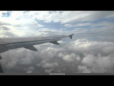 First Flight Quito Ecuador, Lima Perú Tame - HD