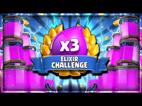 NEW ELIXIR CHALLENGE!! FREE TRADE TOKENS!! - LIVE - Clash Royale Special Event Challenge