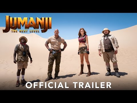 JUMANJI: THE NEXT LEVEL - Official Trailer (HD)