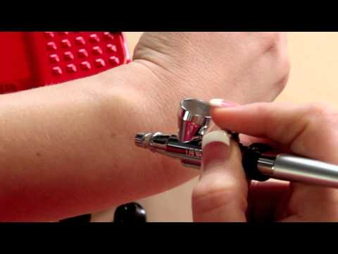 Covering Blemishes  Instructions Using Your Dinair Airbrush Makeup