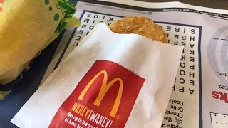 How to reduce grease on a Mcdonalds Hash Brown April 28, 2017