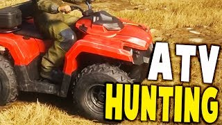 HUNTING BEARS ON NEW EPIC ATV DLC - the Hunter: Call of the Wild