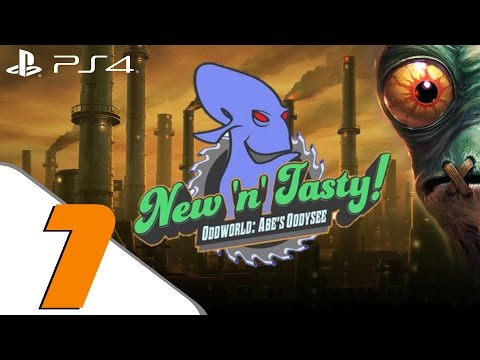 tasty - Oddworld New n Tasty PART 1 Oddworld New n Tasty Walkthrough PART 1 Oddworld Abe's Oddysee Remake part 1 ps4, ps3, ps vita Oddworld New n Tasty walkthrough is here! i will be playing through...