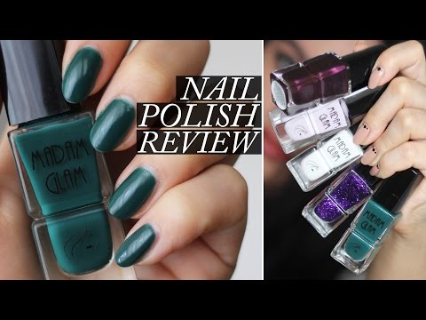 Madam Glam Nail Polish | Swatches & Review