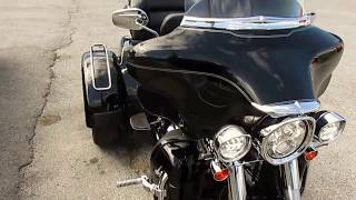 9. 2012 Harley Davidson Tri Glide Trike Motorcycle ,Low Miles, Factory Conversion, $21,900