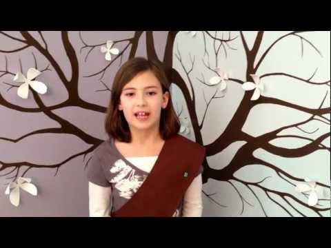 Erin's Brownie troop is selling Girl Scout cookies!