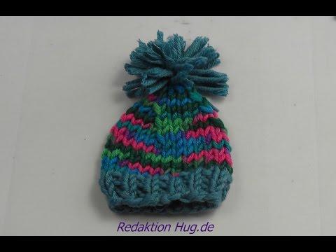 Stricken – Mütze Mini aus hatnut Wolle – Eierwärmer