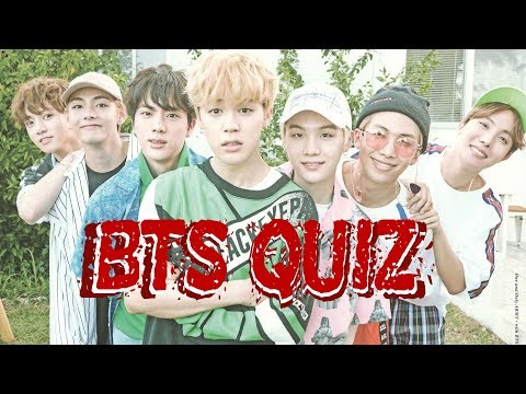 BTS QUIZ °2 - Are you an ARMY ?